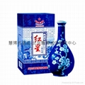 珍品红星二锅头酒(红星青花瓷瓶