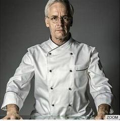 Classic Executive Chef Coat - white