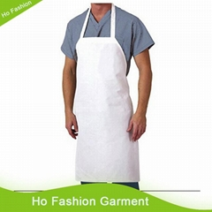 Good quality cotton cooking white apron