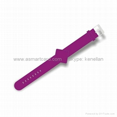 Silicone/Plastic Wristband, Waterproof and Can be Used in Access Control System