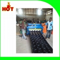 2016 Glazed tile roll forming machine for sale