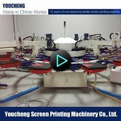 全自動4色印花機