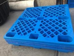 冬季 网格九脚塑料托盘