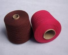 2/48nm 10%Cashmere 90%Mercerized Wool (16.5μm) Yarn