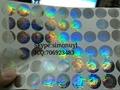 Discover hologram sticker 3D label