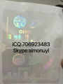 New Ohio state ID hologram sticker stick driver license hologram 2