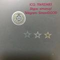 TX Texas ID hologram OVI laminate sheet TX hologram overlay for TX ID DL 4