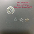 TX Texas ID hologram OVI laminate sheet TX hologram overlay for TX ID DL