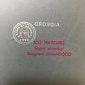 GA ID OVI laminate hologram GEORGIA OVI laminate GA DL hologram GA Template