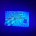 NY Card with UV New York ID card with transparent ghost NY ID DL