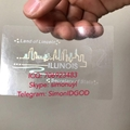 New IL Illinois hologram overlay with UV OVI Driver sticker License for IL DL 1