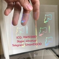 Louisiana LA ID DL hologram overlay sticker Louisiana ID template 1