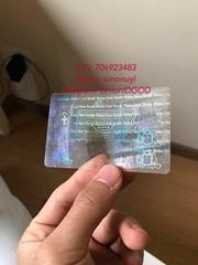 Australia ID hologram overlay sticker