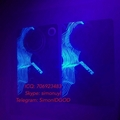 Hot sell Illinois state ID hologram sticker manufacturer IL