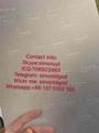 New Mississippi MS ID hologram OVI sheet