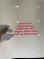 NEW NC ID OVI pouch DL hologram DL OVI hologram North Carolina template