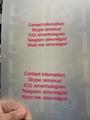 New  GA Georgia ID OVI hologram pouch with raise text UV NEW GA Template  3