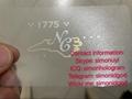 NEW NC ID driver Licence OVI UV hologram overlay North Carolina template