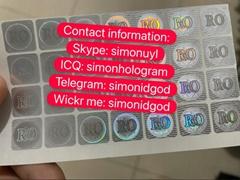 Rome Europe ID hologram sticker ID Driver lice