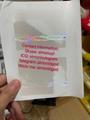 Canada Quebec health care RAMQ hologram sticker ID Driver lice