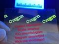 Oregon OR OVI hologram sticker with UV for OR Oregon ID Driver lice 3