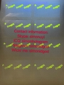 Oregon OR OVI hologram sticker with UV for OR Oregon ID Driver lice 5