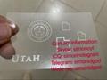 New Utah OVI hologram sticker for UT