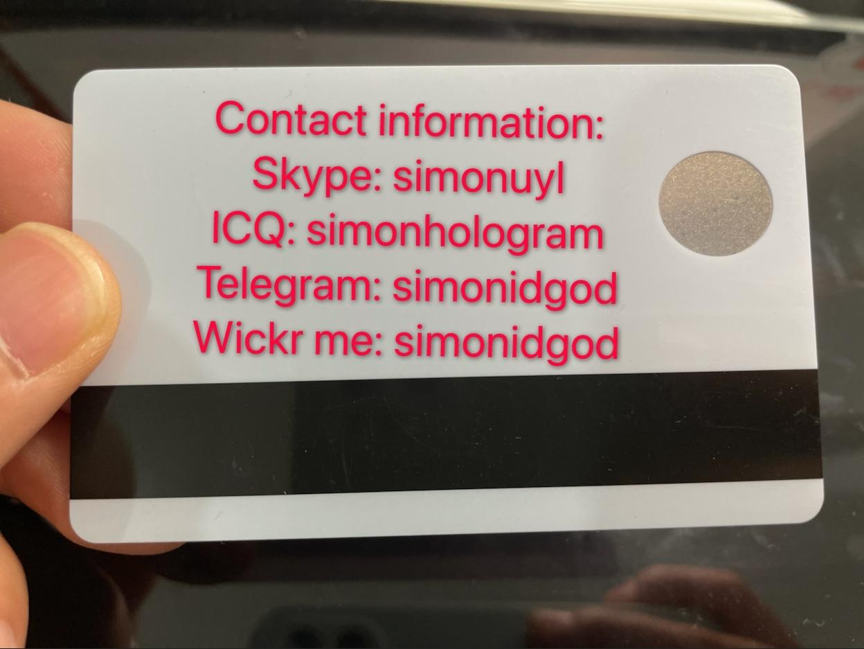 Polycarbonate card New FL Florida ID UV card WITH magnetic strip 4
