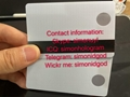 Polycarbonate card New FL Florida ID UV card WITH magnetic strip