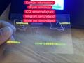 Louisiana LA OVI hologram OVI overlay with UV LA ID template