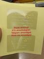 Virginia VA ID DL hologram overlay sticker Virginia VA ID template 3