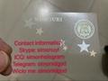 Missouri MO ID DL UV hologram overlay sticker Missouri ID template 1