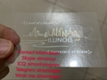 New IL Illinois hologram overlay with UV OVI Driver sticker License for IL DL 3