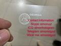 GA Georgia hologram overlay with UV OVI