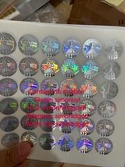 GA ID back sticker Kingram GA ID back hologram sticker