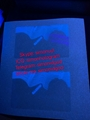 Hot sell Illinois state ID UV hologram sticker manufacturer IL