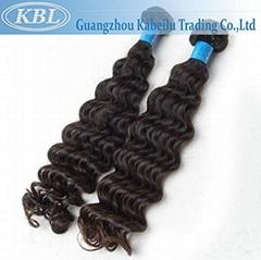 Grade 5A Brazilian Deep Wave Hair Extensions 100% Unprocessed Brazilianhair
