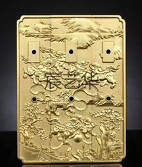 宸藝華生產訂製明清傢具銅件
