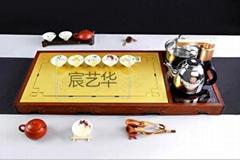 宸藝華生產訂製仿古茶盤