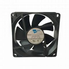 80mm silent cooling fan for case