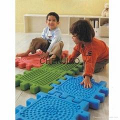 Improve touching feeling big size building blocks plastic
