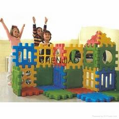 whole set 28pcs big size children playing plastic building blocks