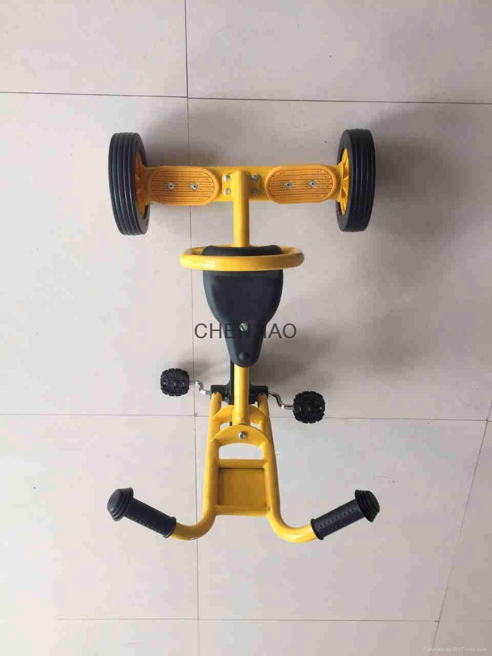 Three Wheel Balance Multiplayer Team Work Spirit Kids Bicycle 2