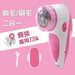 热卖博腾充电式二合一毛球修剪器静电除尘去毛刷衣物剃毛器除毛器