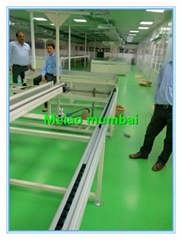 LED street lights, tunnel lights automatic assembly line machine