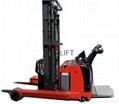 electric reach truck pallet stacker 2