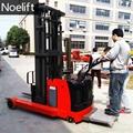 electric reach truck pallet stacker 4