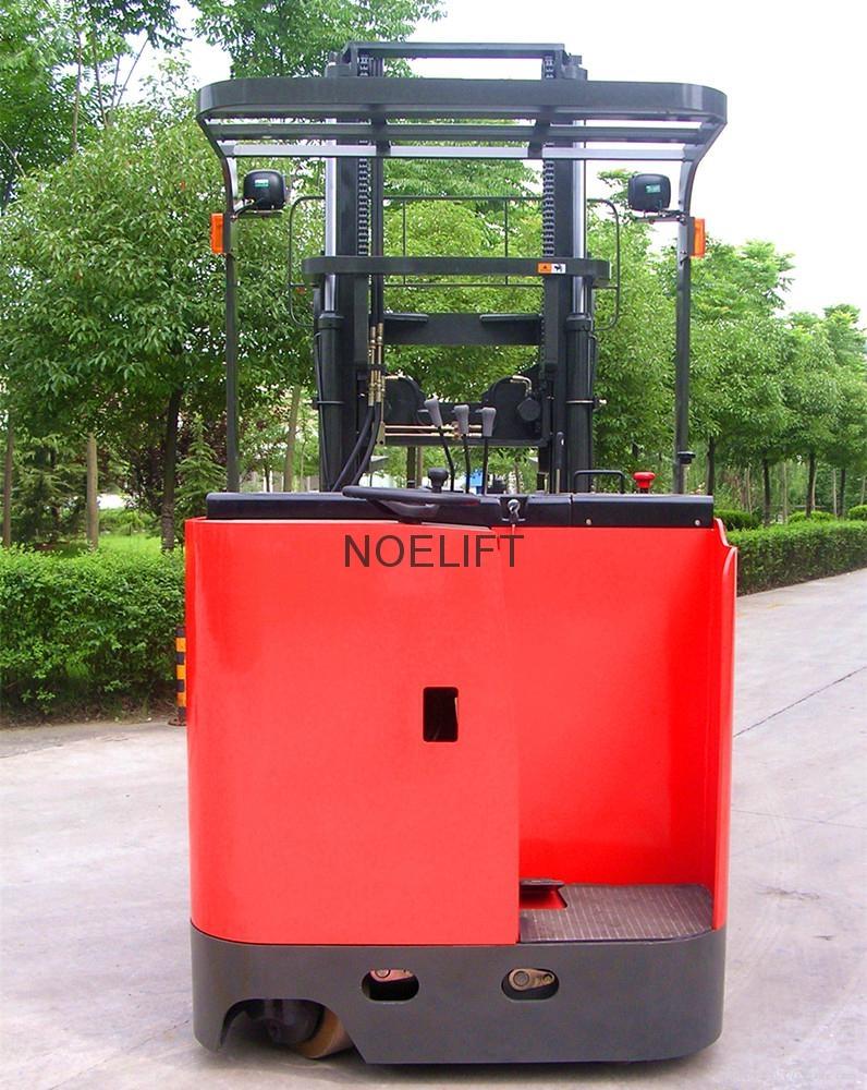 electric reach truck pallet stacker 5