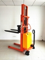 semi electric pallet stacker 5