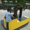 side loader electric reach stacker